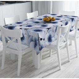 Покривка за маса - Зимни цветя