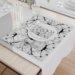 Set - Place Mats + Cloth Napkin - Land