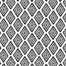 К-т подложки + салфетки - Черно и бяло