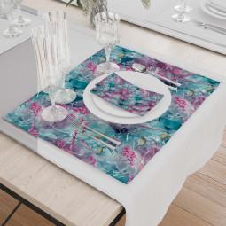 Set - Place Mats + Cloth Napkin - Generation