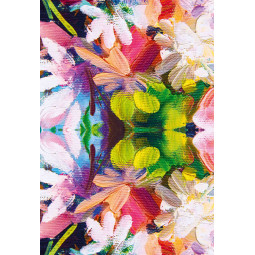 Set - Table Runner + 3pcs Cloth Towel - Spring color