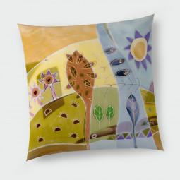 Декоративна възглавница с цип - Ухание