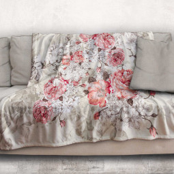 Blanket - Vintage rose