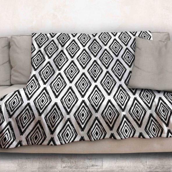 Одеяло - Черно и бяло