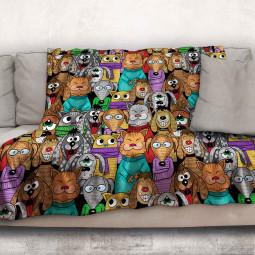 Одеяло - Забавни животни