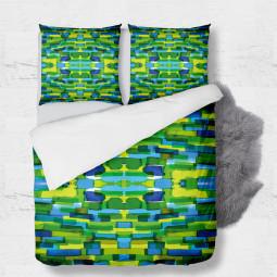 Set - duvet Cover + 2pc shams - Tessellation