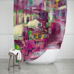 Shower Curtains - Awakening