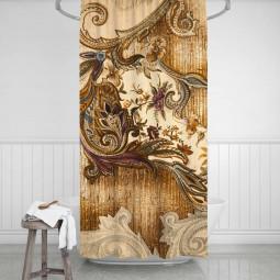 Shower Curtains - Retro wallpaper