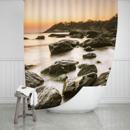 Завеса за баня - Скален бряг