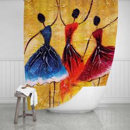 Завеса за баня - Балерини