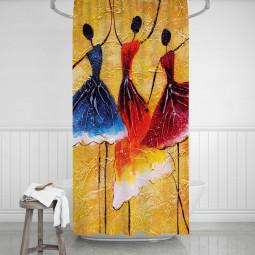 Shower Curtains - Ballerinas