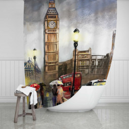 Завеса за баня - Лондон