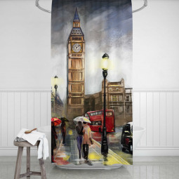 Shower Curtains - London