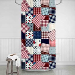 Завеса за баня - Изработено от баба