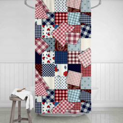 Shower Curtains - Made by grandma