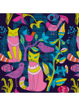Tote Bag - Cat party