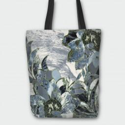 Текстилна торбичка - Винтидж цветя