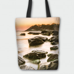 Текстилна торбичка - Скален бряг