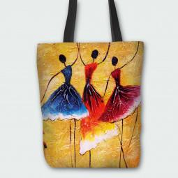 Текстилна торбичка - Балерини