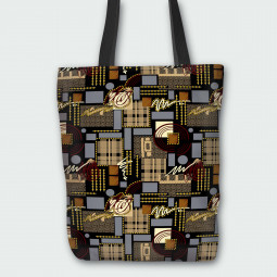 Tote Bag - Electronic circuit