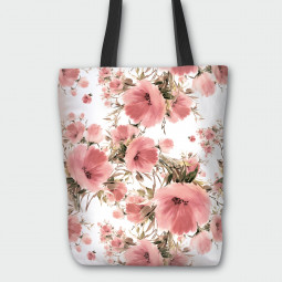 Tote Bag - Poppy garden