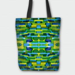 Текстилна торбичка - Мозайка