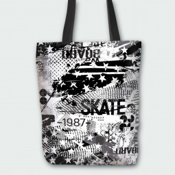 Tote Bag - Skateboard