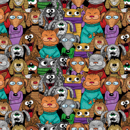 Мешка - Забавни животни