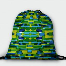 Drawstring Bag - Tessellation