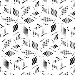 Мешка - Геометрия в бяло