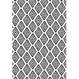 Шал шифон - Черно и бяло