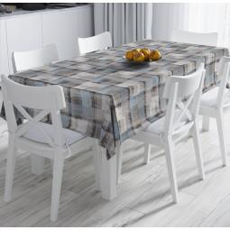 Покривка за маса - Ленени текстури
