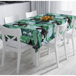 Покривка за маса - Горски къщички