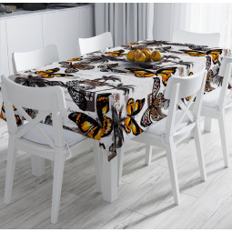 Покривка за маса - Пеперуди и палми
