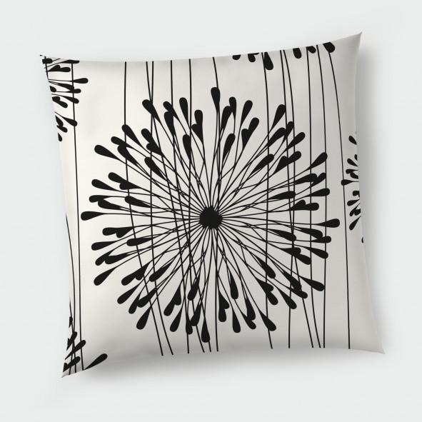 Декоративна възглавница с цип - Глухарчета