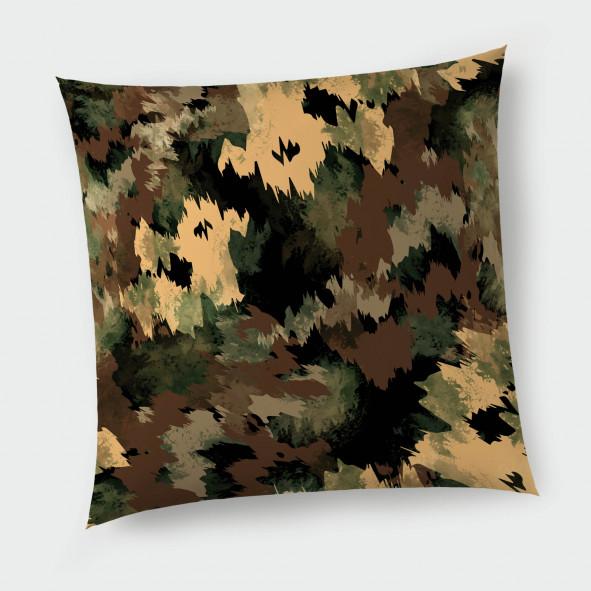 Декоративна възглавница с цип - Military