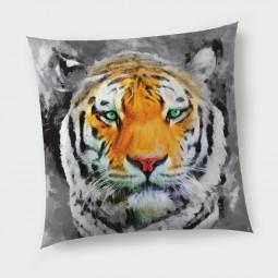 Декоративна възглавница с цип - Тигър