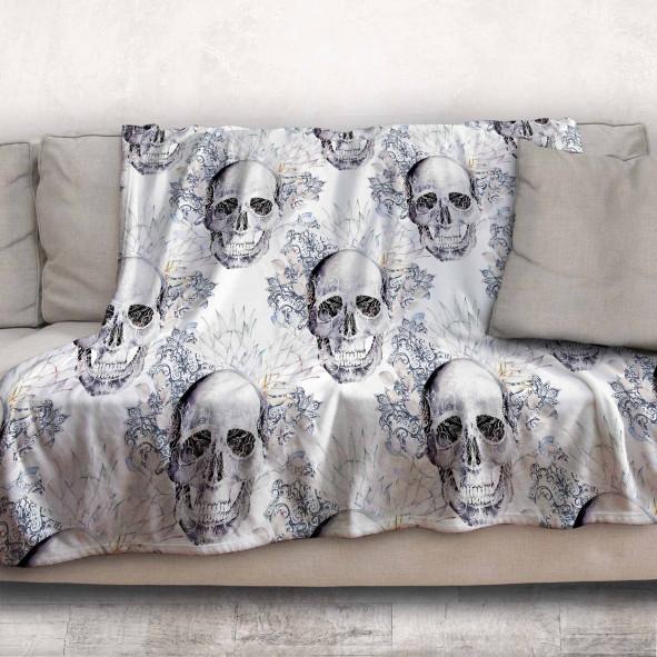 Одеяло - Готически черепи