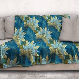Одеяло - Арт цветя