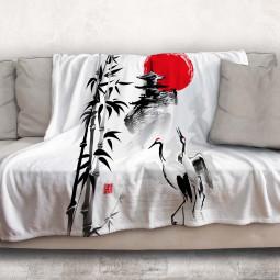 Одеяло - Жерави