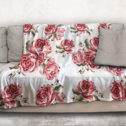 Одеяло - Червени рози