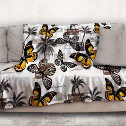 Одеяло - Пеперуди и палми