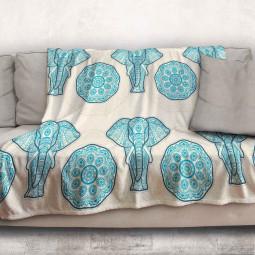 Одеяло - Азиатски слон