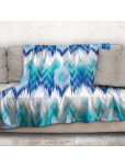 Одеяло - Синьо и зелено