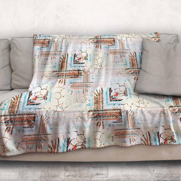 Одеяло - Цветя и фигури