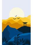Одеяло - Японски изгрев