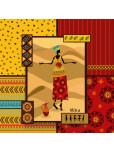 Възглавница за под - Африка