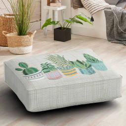 Възглавница за под - Растения