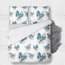 К-т плик с 2бр. калъфки - Пеперуди