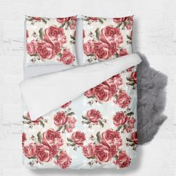 К-т плик с 2бр. калъфки - Червени рози